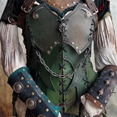 Personnalisation d'armures en cuir